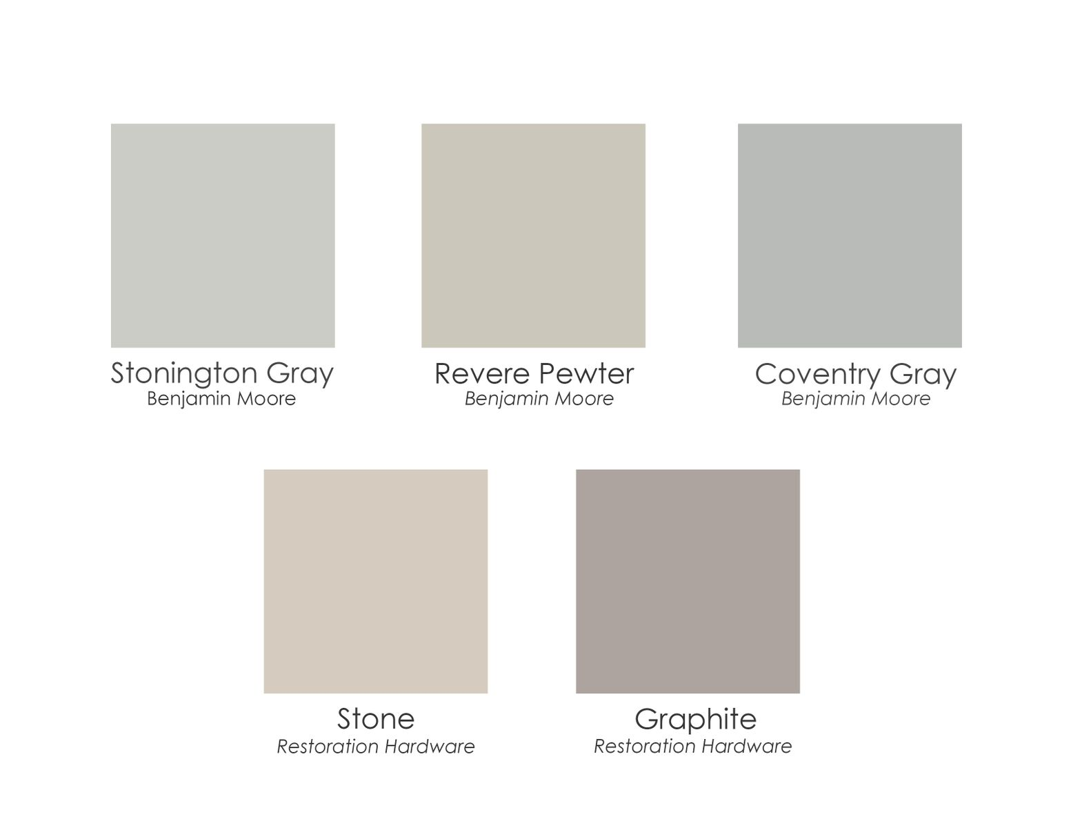 Warm gray paint colors afp design for Grey white paint colors