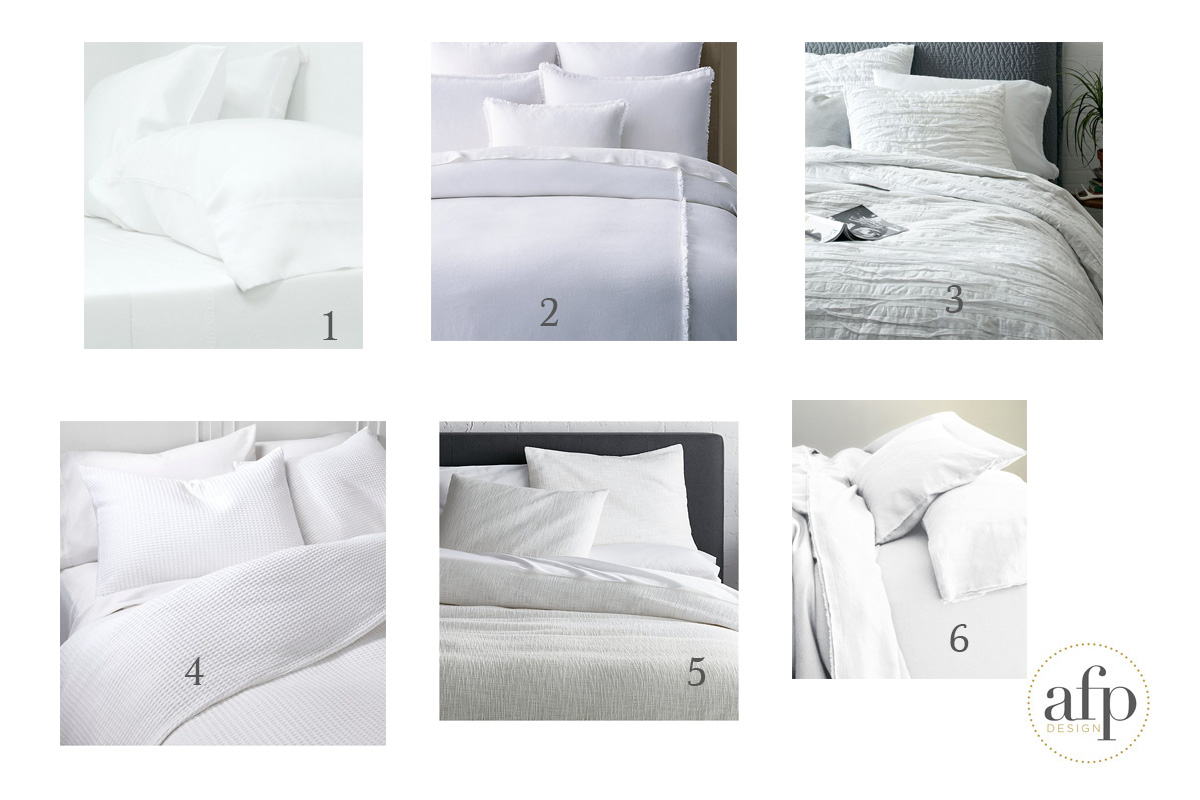 whitebedding