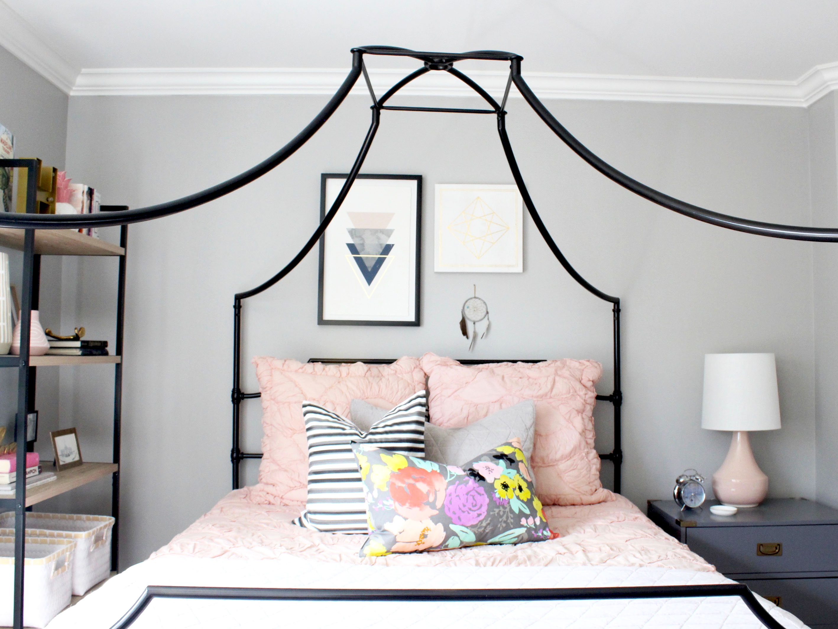 Canopy Bed Teen Bedroom & Canopy Bed Teen Bedroom - AFP Design
