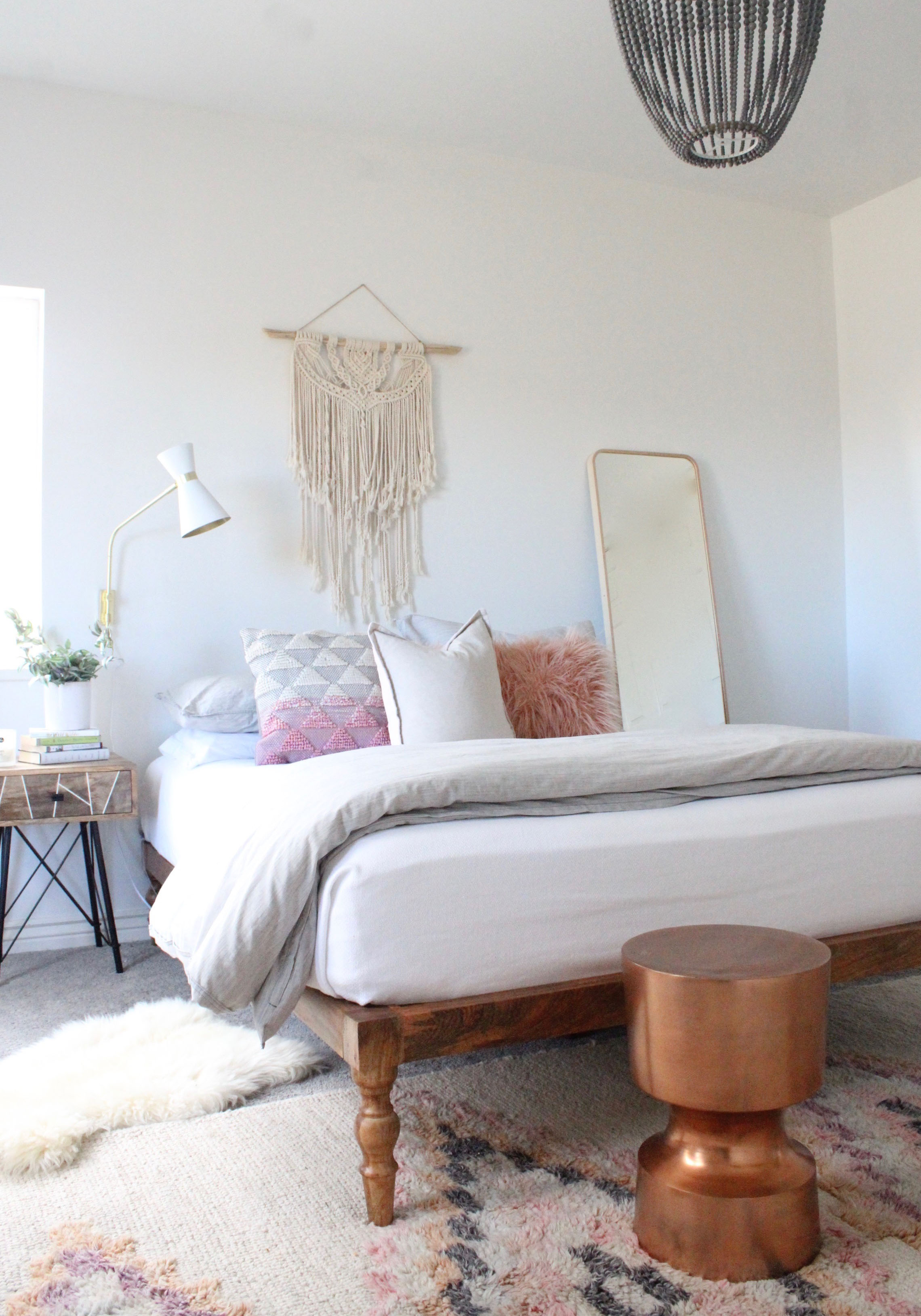 Modern Boho Teen Bedroom - AFP Design