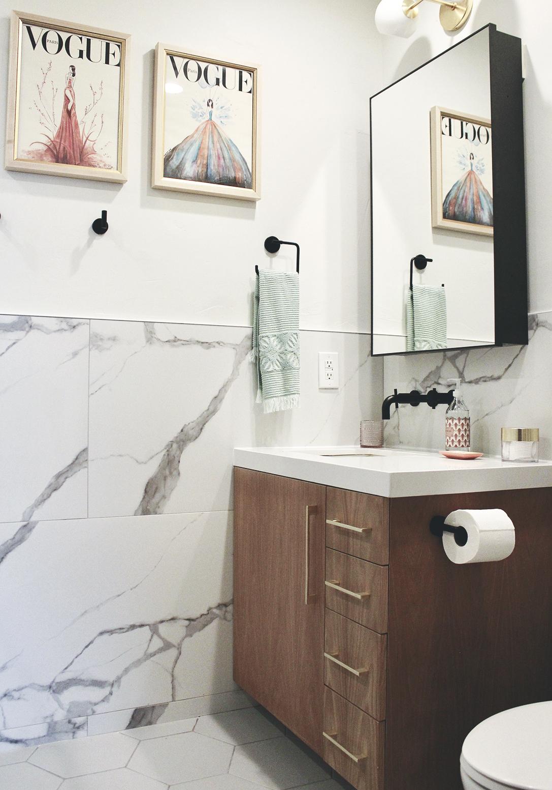 A Girl's Bathroom