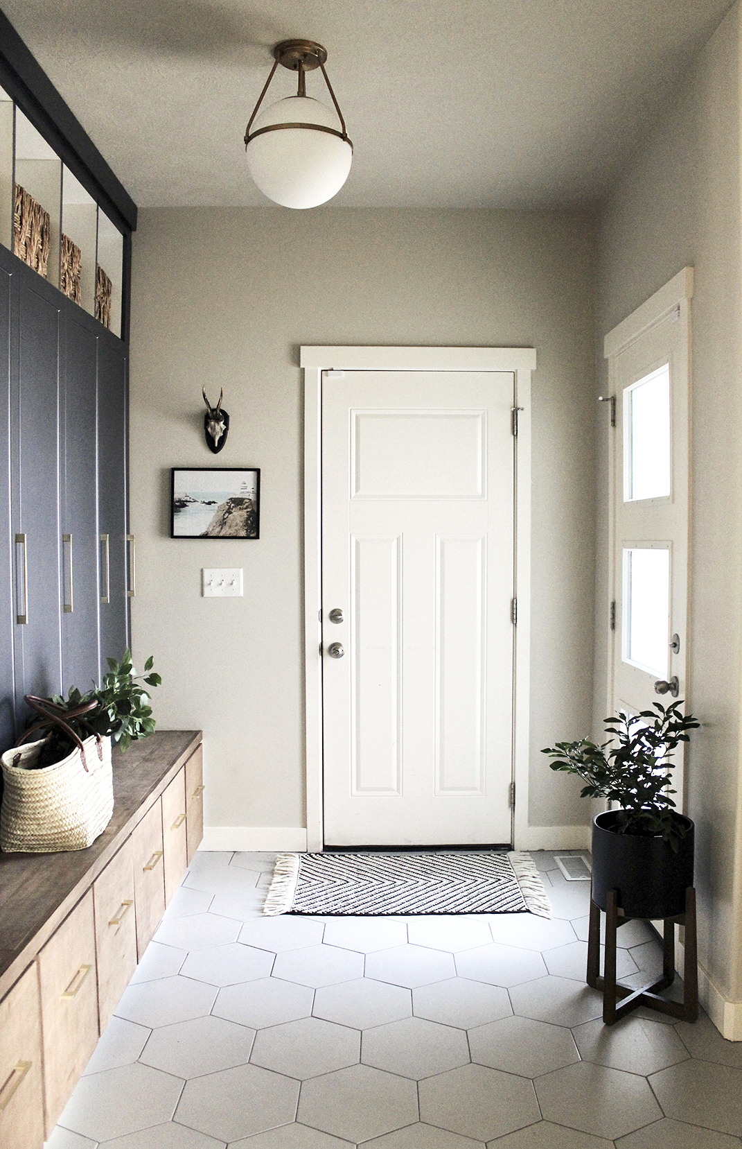 Their Dream Mudroom